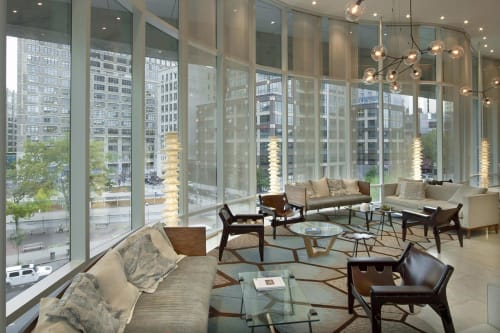 The James New York, Hotels, Interior Design