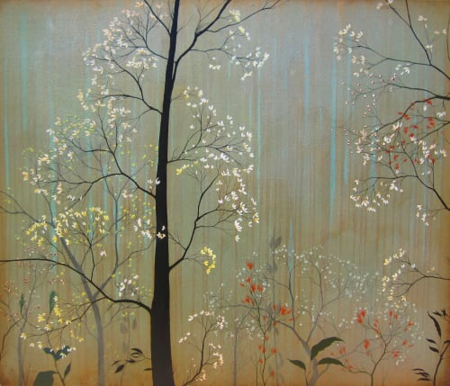 Paintings by Ivy Jacobsen at Zuckerberg San Francisco General Hospital and Trauma Center, San Francisco - Summer Light