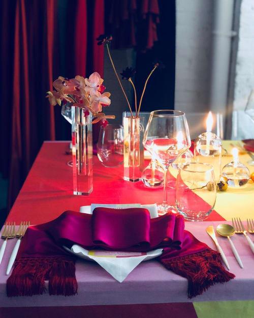 Tableware by ATELIER SAUCIER seen at Galvan London, London - Table Napkins