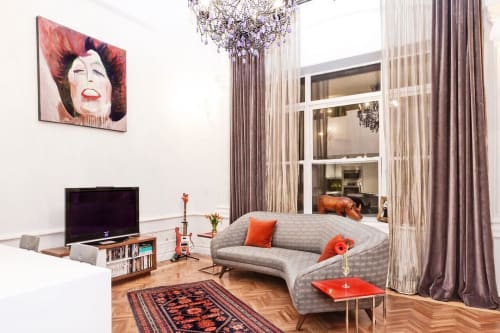 Interior Design by Marie Burgos Design at Private Residence, New York - Interior Design