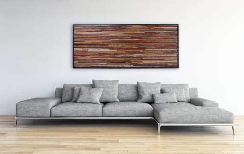 Wall Hangings by Craig Forget seen at Private Residence, Essex - Reclaimed Wood Artwork