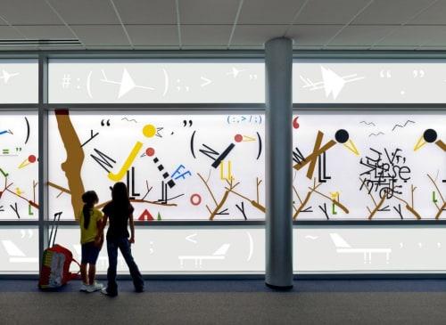 Art & Wall Decor by Bob Zoell at San Francisco International Airport, San Francisco - bFiLrYd