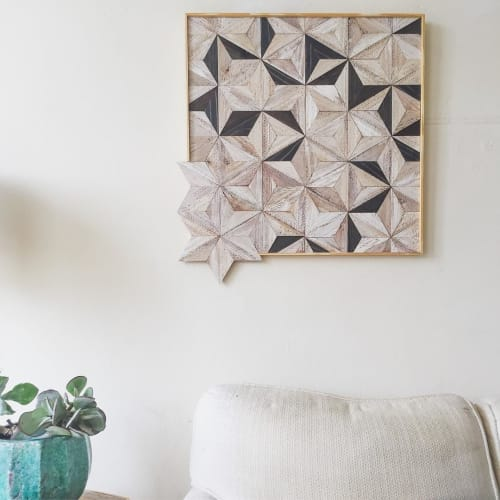 Wall Hangings by Nicole Sweeney seen at Private Residence, San Francisco - Starburst Tile