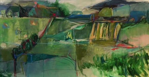 Cate West Zahl - Paintings and Art