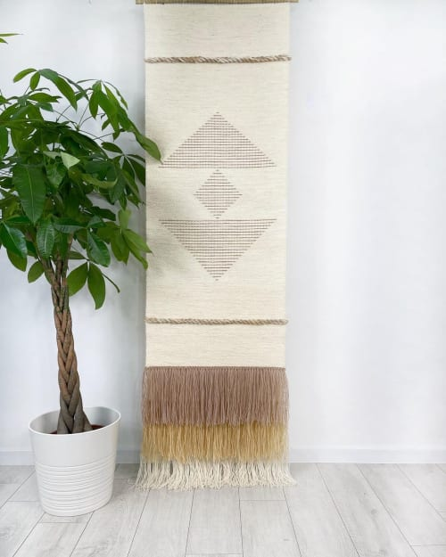 Wall Hangings by Lale Studio seen at Private Residence, Chicago - Woven Tapestry