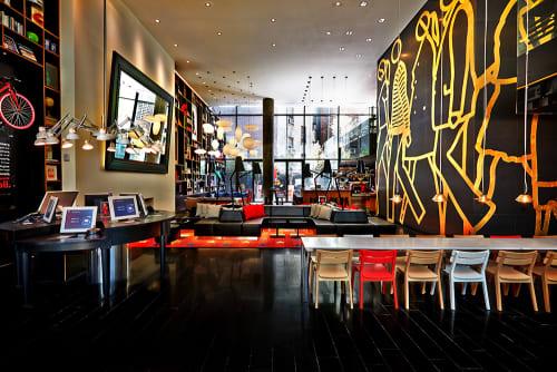 citizenM New York, Hotels, Interior Design