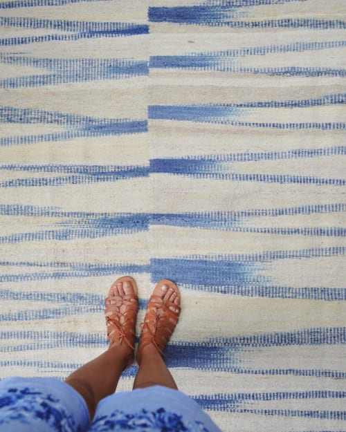 Rugs by AWANAY seen at Private Residence, Buenos Aires Province - OLAS RUG