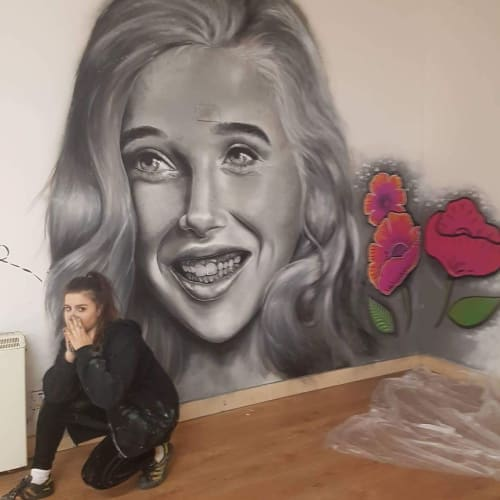 Murals by Caoilfhionn Hanton seen at Private Residence, Tramore - Run-A-Muck Wall  Mural