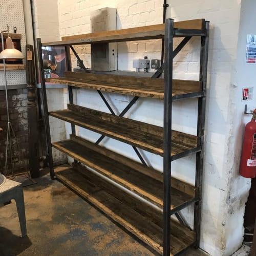Furniture by Pugiipug seen at The Kelham Flea, Sheffield - Shelves
