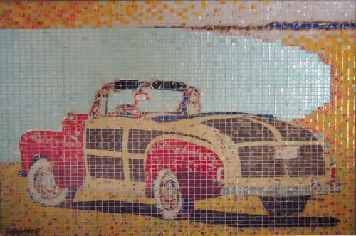 Jeff Ivanhoe - Public Mosaics and Public Art