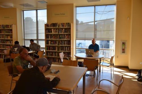 Glen Park Branch Library, Public Service Centers, Interior Design