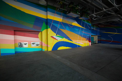 Murals by Momo seen at Hard Rock Stadium, Miami Gardens - Hard Rcok Mural