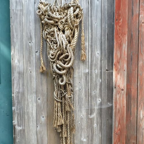 Macrame Wall Hanging by Susan Beallor Snyder seen at Acadia National Park - For Annette