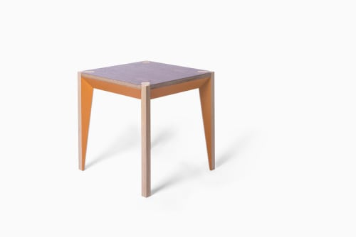 Tables by Miduny seen at Private Residence, Brooklyn - MiMi Stool & End Table
