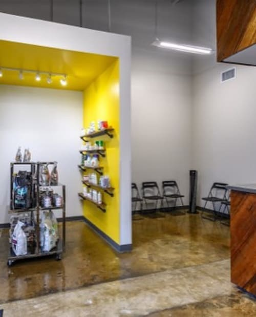 Wall Treatments by FMWfablab seen at EaDo Veterinary Clinic, Houston - Custom Furniture