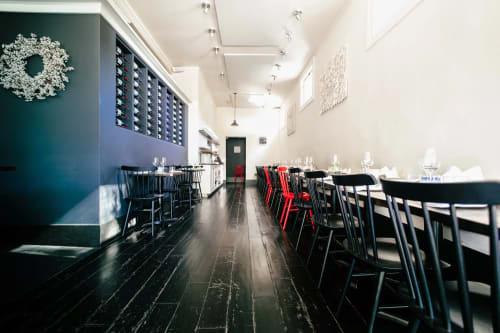 Frances, Restaurants, Interior Design