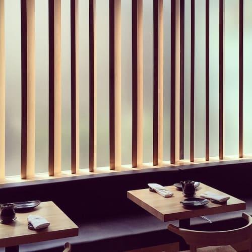 Art & Wall Decor by Marwan Al Sayed Inc. seen at Hamasaku, Los Angeles - Shoji-like Screen Of Wood