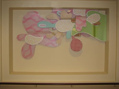 Wall Hangings by Terry Hoff seen at Laguna Honda Hospital and Rehabilitation Center, San Francisco - Untitled 2008-2009