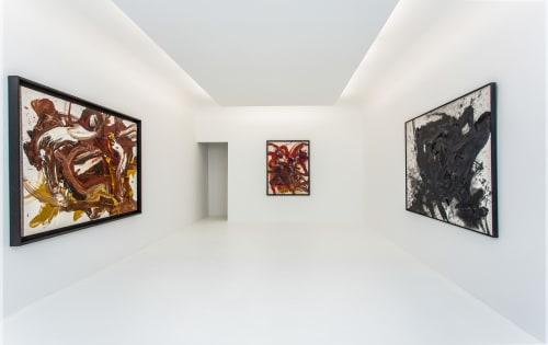 Kazuo Shiraga - Paintings and Art