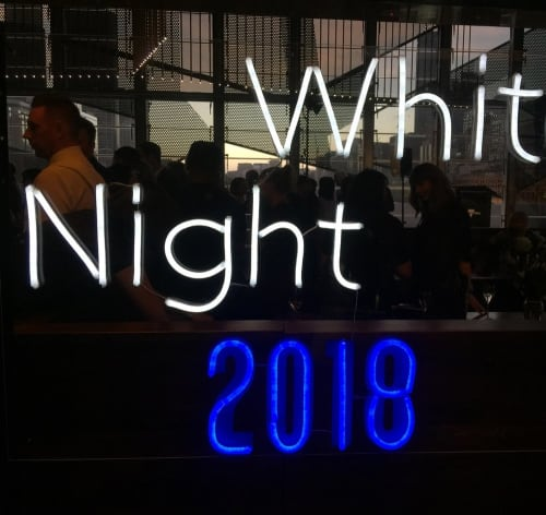 Lighting by Carla O'Brien at White Night Melbourne, Melbourne - White Night 2018