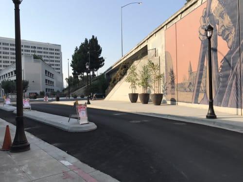 St. John Street and Almaden Boulevard, San Jose, Urban Canvases, Interior Design