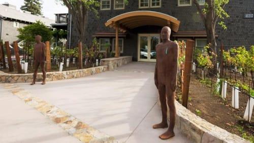 Sculptures by Steinunn Thorarinsdottir seen at Senza Hotel, Napa - Days