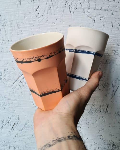 Cups by BasicArtCeramic seen at Creator's Studio - Casablanca