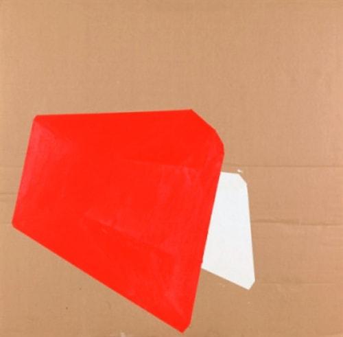 Paintings by Judy Rifka seen at Honolulu Museum Of Art, Honolulu - Cardboard Painting