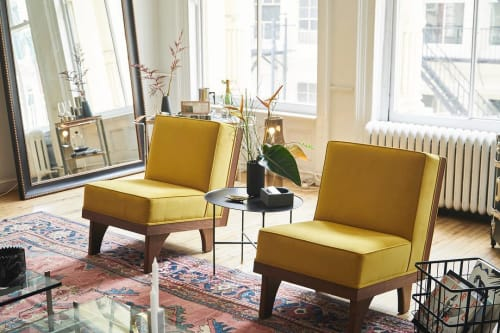 Chairs by Luteca Furniture at The Apartment by The Line, New York - Line Lounge Chairs