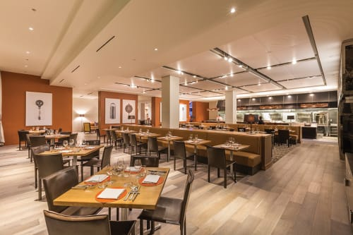 CIA at Copia (The Culinary Institute of America), Restaurants, Interior Design