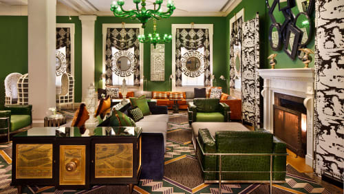 Kimpton Hotel Monaco Washington DC, Hotels, Interior Design