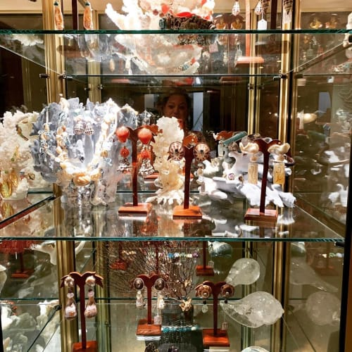 Apparel & Accessories by Christa Wilm seen at Faena Hotel Miami Beach, Miami Beach - Seashell jewelries