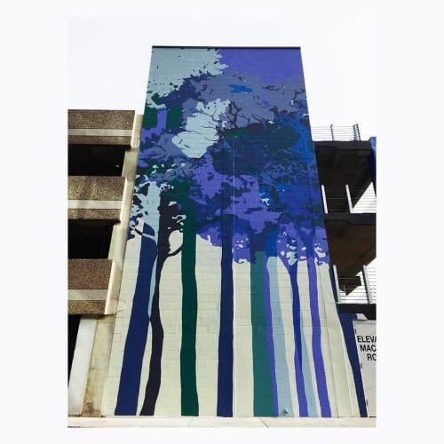Street Murals by JD Deardourff seen at Reston, Reston - Mural