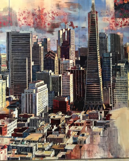 "Paintings by Douglas Schneider Art seen at Private Residence, Oakland - ""City of Love"""