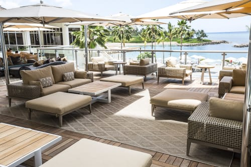 Couches & Sofas by Kenneth Cobonpue at Four Seasons Resort Oahu at Ko Olina, Kapolei - Tropez Sofa and L-Sofa