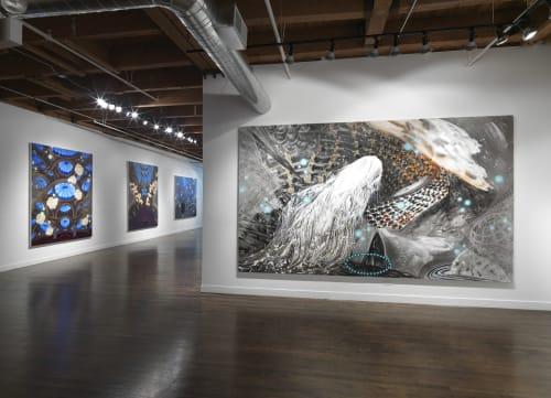 Linda Warren Gallery, North Aberdeen Street, Chicago, IL, Art Galleries, Interior Design