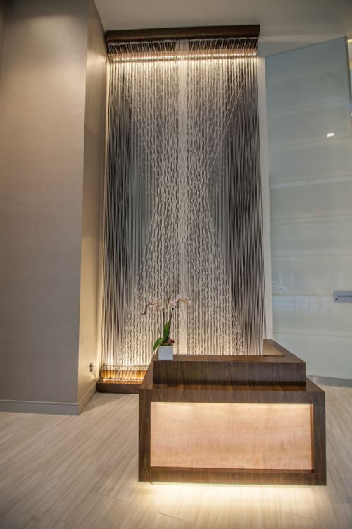 Sculptures by Megan Mosholder seen at AC Hotel by Marriott National Harbor Washington, DC Area, Oxon Hill - Rope Sculpture