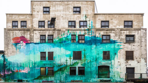 Kim West Murals And Street Murals Wescover