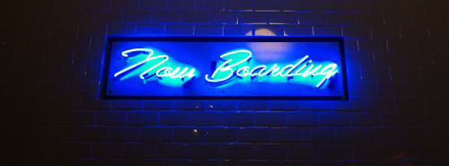 Now Boarding, Bars, Interior Design