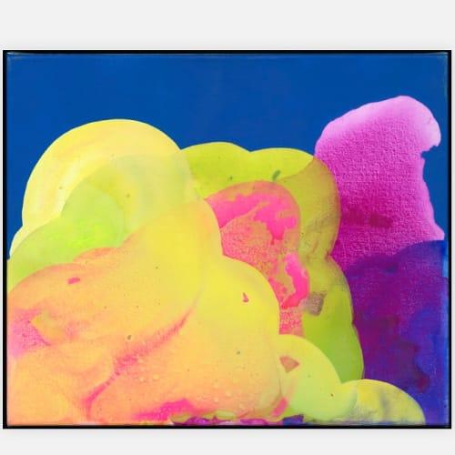 Paintings by Katie Brennan seen at Private Residence, Kelowna - Colorful Paintings
