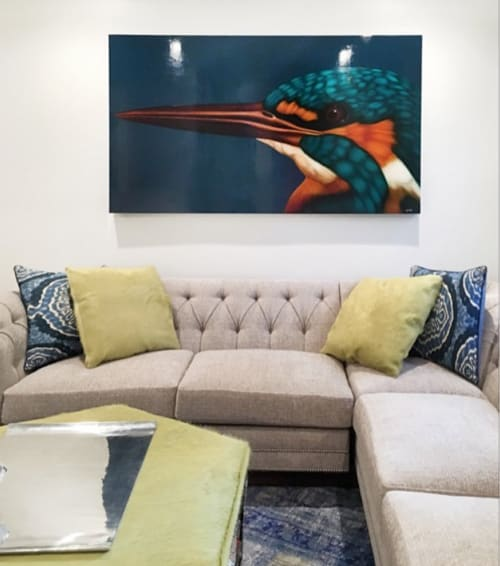 Paintings by Horton Arts Gallery seen at Private Residence, Atlanta - Halcyon