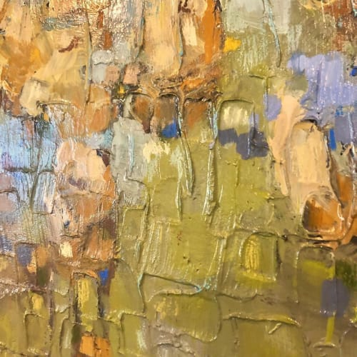 Paintings by Jill Van Sickle Fine Art Paintings seen at Private Residence, Minneapolis - Sparkling Water Series