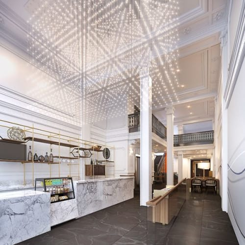 Chandeliers by Stonehill Taylor seen at Axiom, San Francisco - Chandelier