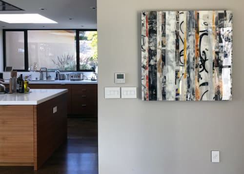 Paintings by Andrzej Michael Karwacki seen at Private Residence, Oakland - Equanimity Redefined