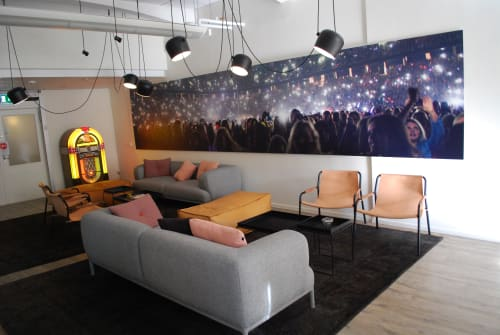 Chairs by Dennis Marquart at Sony Music, Stockholm, Norrmalm - September Lounge Chair