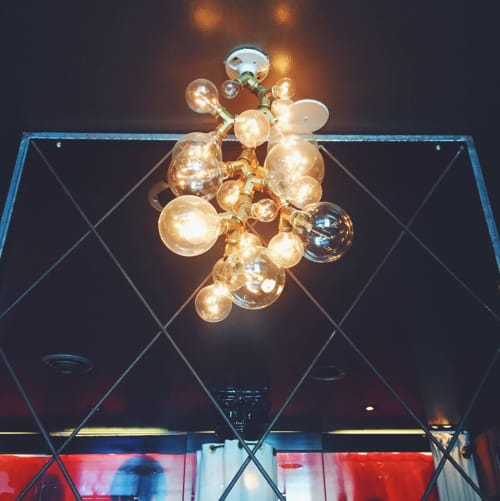 Pendants by Mister Important Design seen at Chambers, San Francisco - Pendant Light Fixture