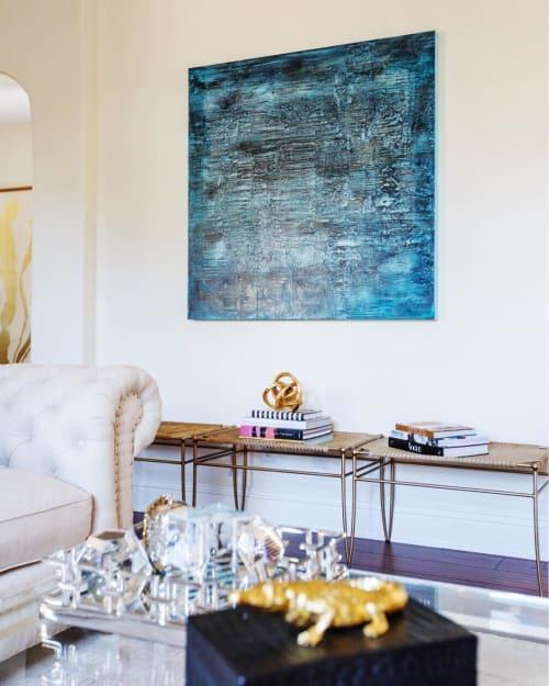 Paintings by Shawn Meharg at Private Residence, Jacksonville - Abstract Painting