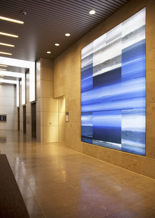 Art & Wall Decor by Nicole Landau seen at One Summerlin (Las Vegas), Las Vegas - One Summerlin Lobby
