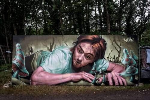 Andreas Welin - Street Murals and Public Art