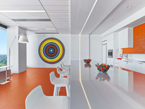 Chairs by Wolfgang C.R. Mezger seen at Pritzker Group L.A., Los Angeles - Circo Barstool